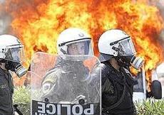 Grecia polizia