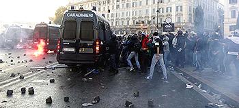 L'assalto a un blindato dei carabinieri