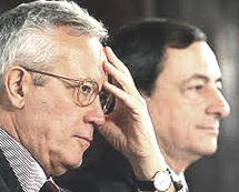Tremonti e Draghi