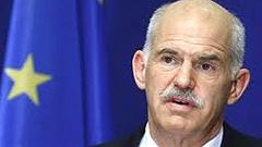 Il premier ellenico George Papandreou
