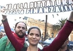 indignados Roma