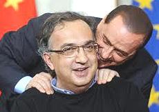 Berlusconi e Marchionne