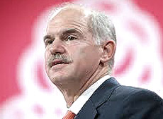 Il premier greco Papandreou