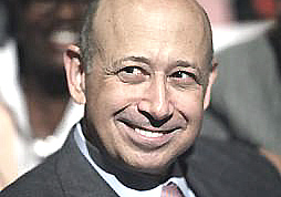 """Lloyd Blankfein, ad di Goldman Sachs (banca di cui Mario Monti è stato """"international advisor"""")"""