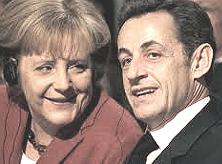 Merkel e Sarkozy
