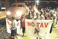 No Tav, la protesta in valle di Susa