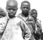 Ruanda, ragazzini