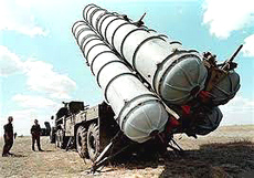 Una batteria di missili anti-missile S-300