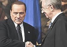 Berlusconi e Monti