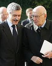 D'Alema e Napolitano