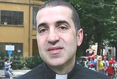Don Marco Baroncini, parroco di Ripoli