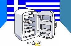 Frigorifero vuoto: la fame in Grecia