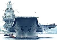La portarei russa Admiral Kuznetsov