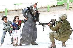 La spietata repressione dei palestinesi