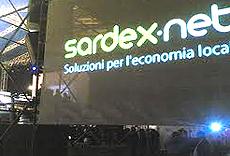 Una conferenza di presentazione del Sardex