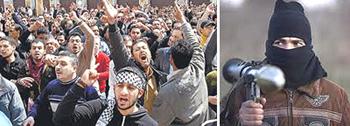 La Siria verso la guerra civile