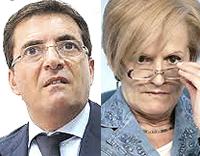 Nicola Cosentino e Livia Turco