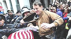Usa, la repressione delle proteste a Wall Street