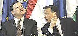 Orbàn con Barroso