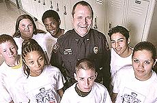 Texas polizia a scuola