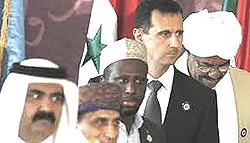 Assad e la Lega Araba