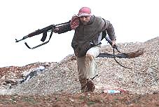 Un miliziano anti-Assad: siriano?