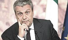 L'ex ministro Domenico Siniscalco, responsabile per l'Italia della Morgan Stanley