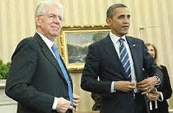 Monti e Obama