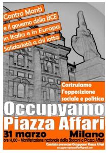 Occupyamo Piazza Affari