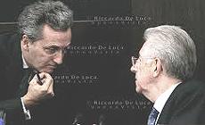 Vittorio Grilli e Mario Monti