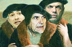 """La """"banda dei tre"""""""