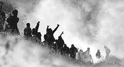 No-Tav in una nube di lacrimogeni