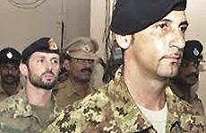 I due marò italiani arrestati in India