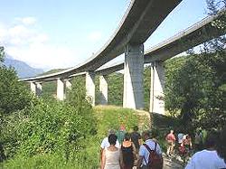 I grandi viadotti dell'A-32 in valle di Susa