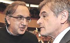 Marchionne e Chiamparino, grandi sostenitori della Torino-Lione