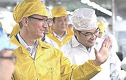 Tim Cook, erede di Steve Jobs