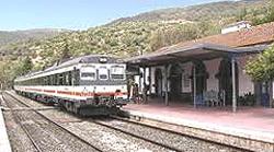"""Il """"trenino"""" spagnolo nella zona di Algeciras"""