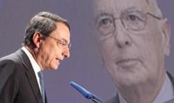 Draghi Napolitano