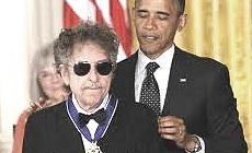 Barack Obama premia Bob Dylan