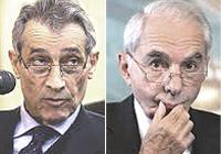 Enrico Bondi e Giuliano Amato