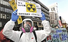 Tokyo, proteste contro il nucleare