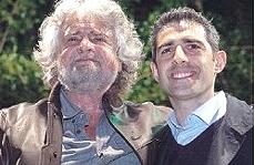 Grillo e Pizzarotti a Parma
