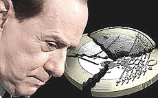 Berlusconi no-euro
