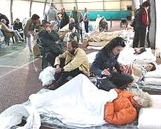 emiliani sfollati