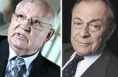 Gorbaciov e Rocard