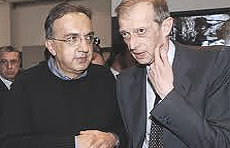 Marchionne e Fassino