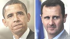 Obama e Assad