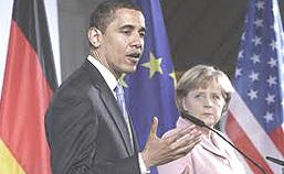 Obama e la Merkel