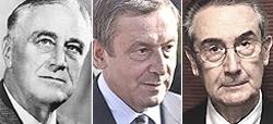 Roosevelt, il ministro Profumo e Luciano Gallino