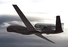 Il drone Global Hawk
